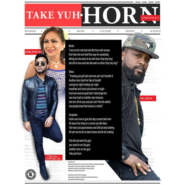 Take Yuh Horn Remix by Dloxx, Neval Chatelal & Drupatee Ramgoonai