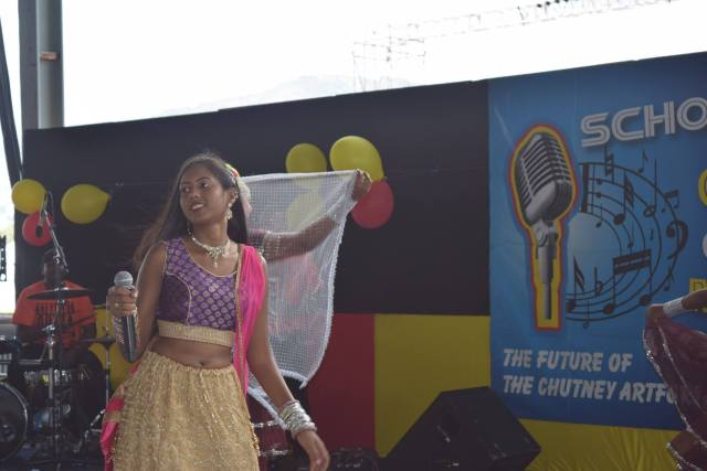 Union Claxton Bay Student Tyra Deonarine Performing Dont Play The Fool Stay In School