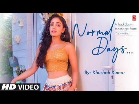 Normal Days | Khushali Kumar | Jigar Panchal, Chirag Panchal | T-Series