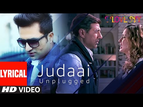 JUDAAI (UNPLUGGED) Lyrical Song | I Love New Year | Falak Shabbir | Sunny Deol, Kangana Ranaut