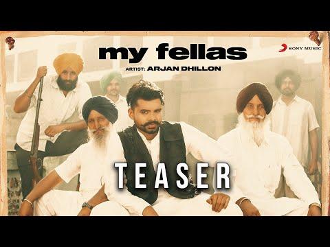 Arjan Dhillon - My Fellas | Official Teaser | Latest Punjabi Song 2020