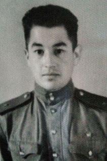 Самуил Дмитриев в армии