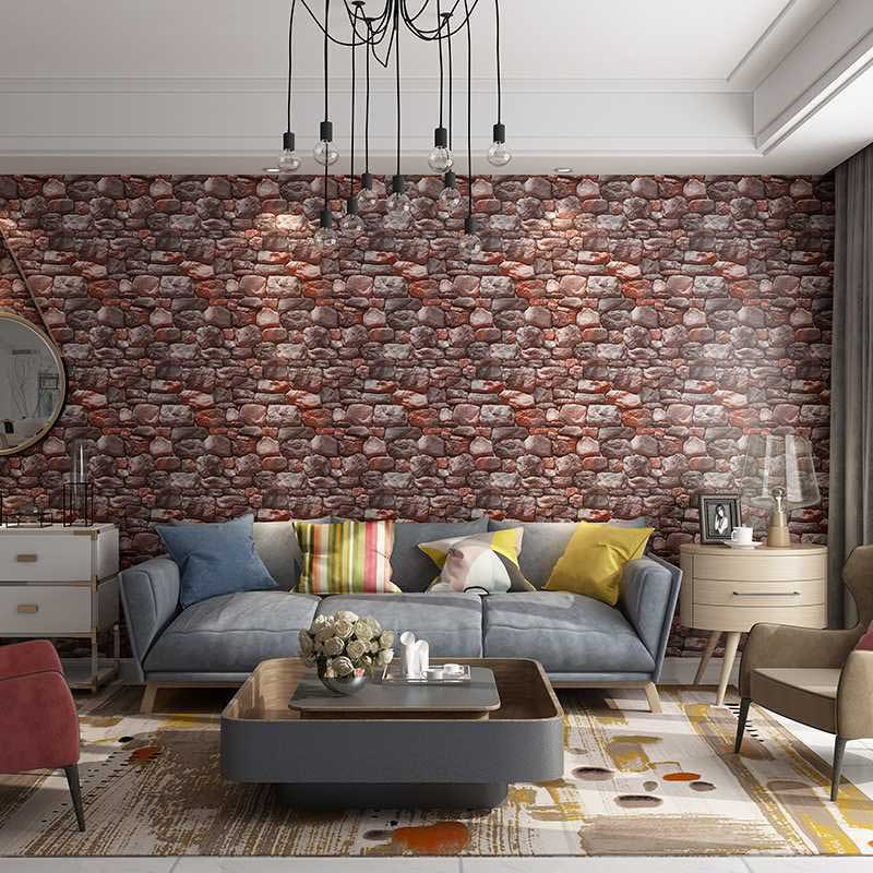 Modern Chinese Designs 3d Simulation, Wallpaper Designs For Living Room In Nigeria