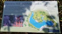 sơ đồ của công viên Nhật Bản