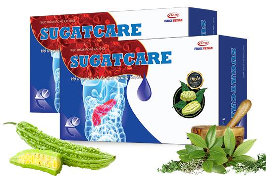 SUGATCARE - Bí quyết vàng giúp GIẢM ĐƯỜNG HUYẾT, cải thiện sức khỏe