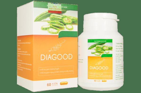 Diagood trị tiểu đường có tốt không? Mua ở đâu? Giá bao nhiêu 2020?