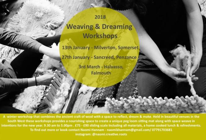 weaving and dreaming workshops