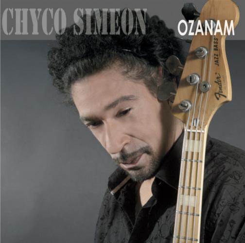 The cover of Chyco Simeon's third album Ozanam