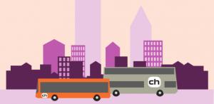 Transit using buses