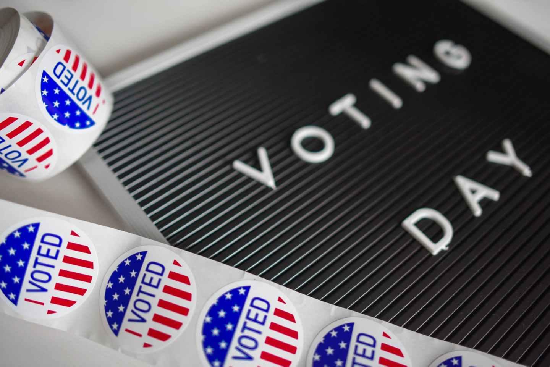 i voted sticker lot