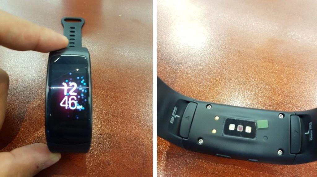 Unikly fotografie ukazující Samsung Gear Fit 2!