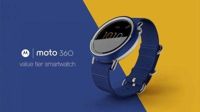 Motorola a jejich levnější verze Moto 360