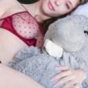 Super hot erotic model Mila Azul slideshow with a teddy bear lingerie xxarxx