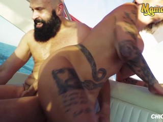 ChicasLoca – Gina Snake Tattooed Spanish Slut Hardcore Public Pussy Fuck In The Middle Of The Sea
