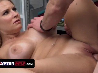 Gorgeous BBW Vanessa Cage Lets The Security Guard Pound Her Mature Pussy Hard