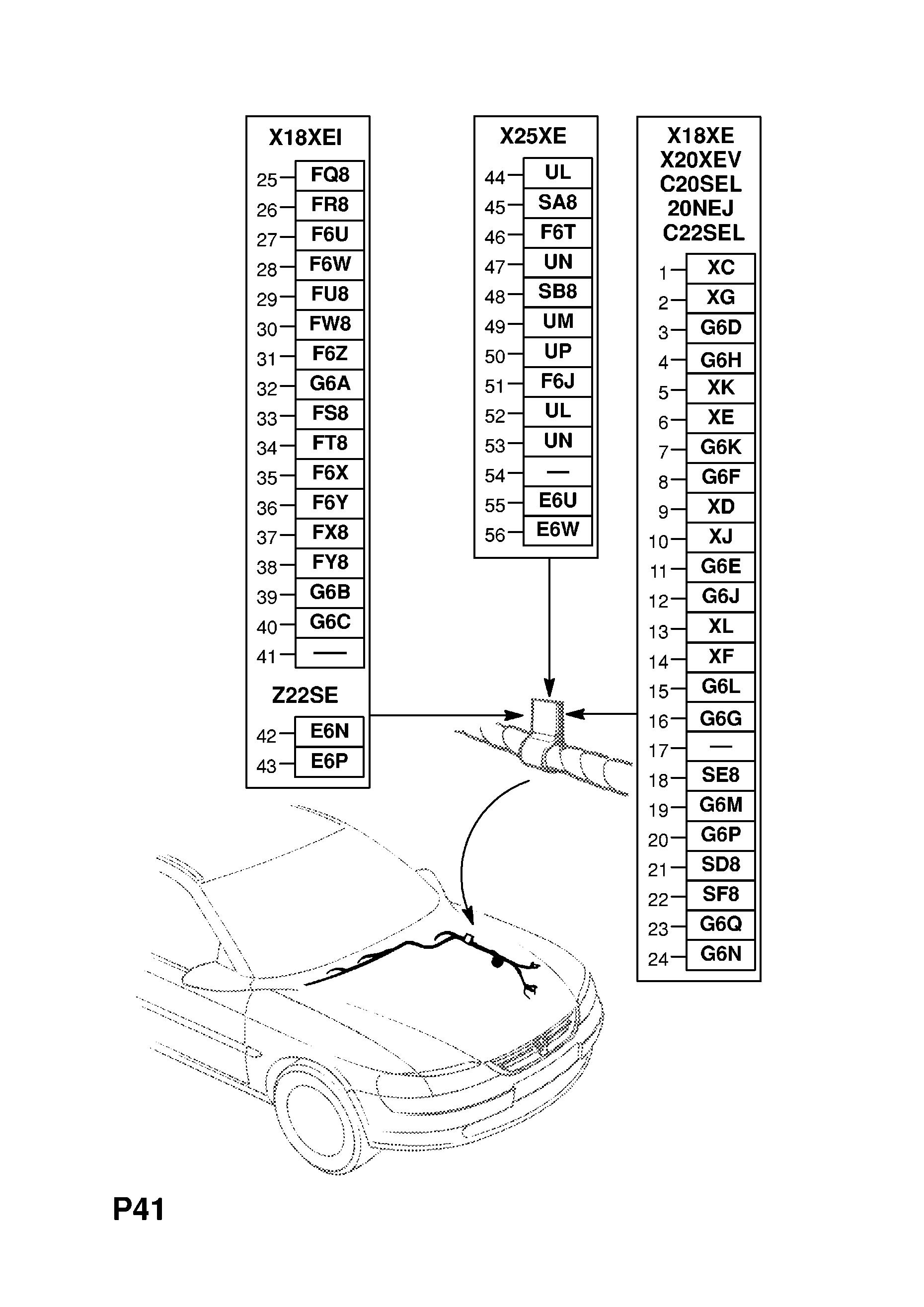 Z22se Engine Wiring Diagram