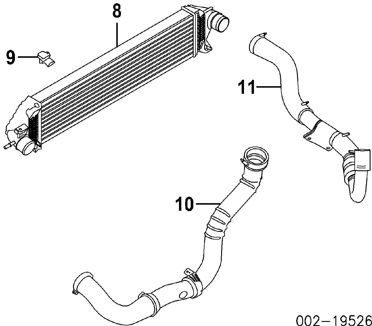 Ford Escape Titanium Turbocharger Intercooler