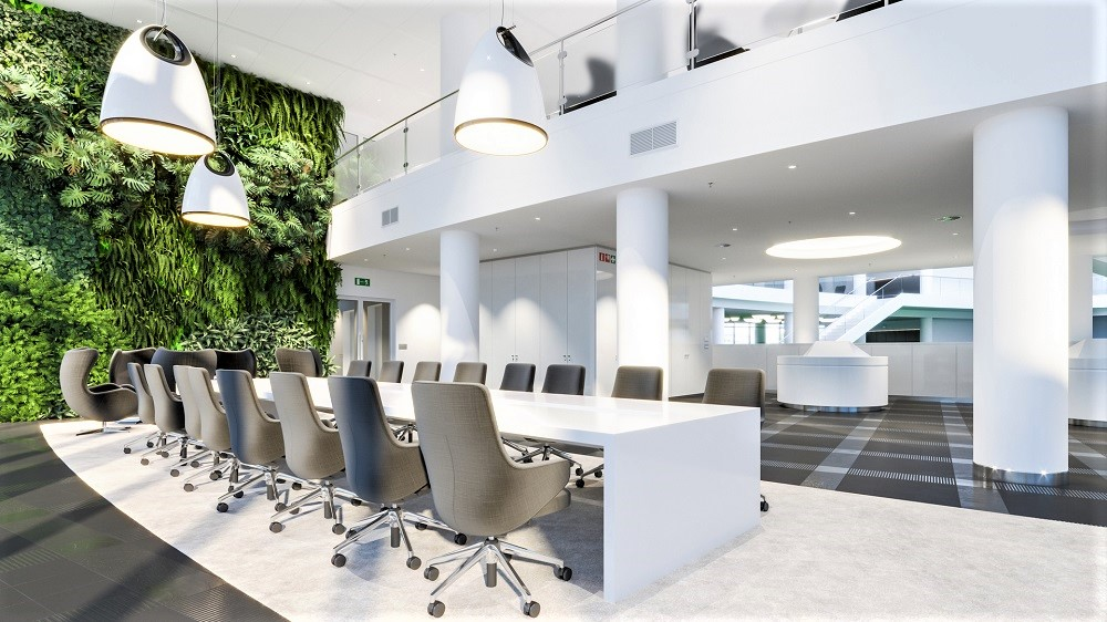 BIOPHILIC OFFICE DESIGN & CONCEPT CI