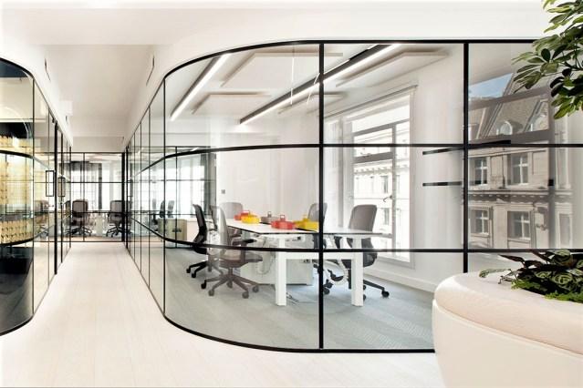 Acoustic Partitions | Office Design | Saudi Arabia