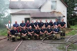 House burn training - summer 2017
