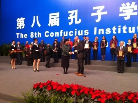 Vice Premier Liu Yandong and John Oakes