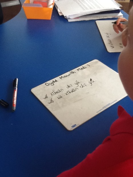 HIGHLY COMMENDABLE - Learning to Write by Abigail Crocket