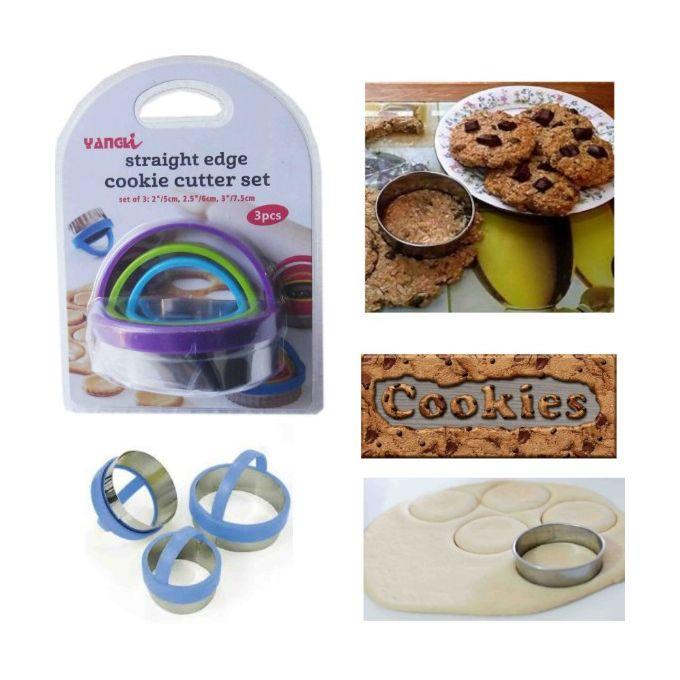 emport pieces moule biscuit cookie avec poignee 6 pieces