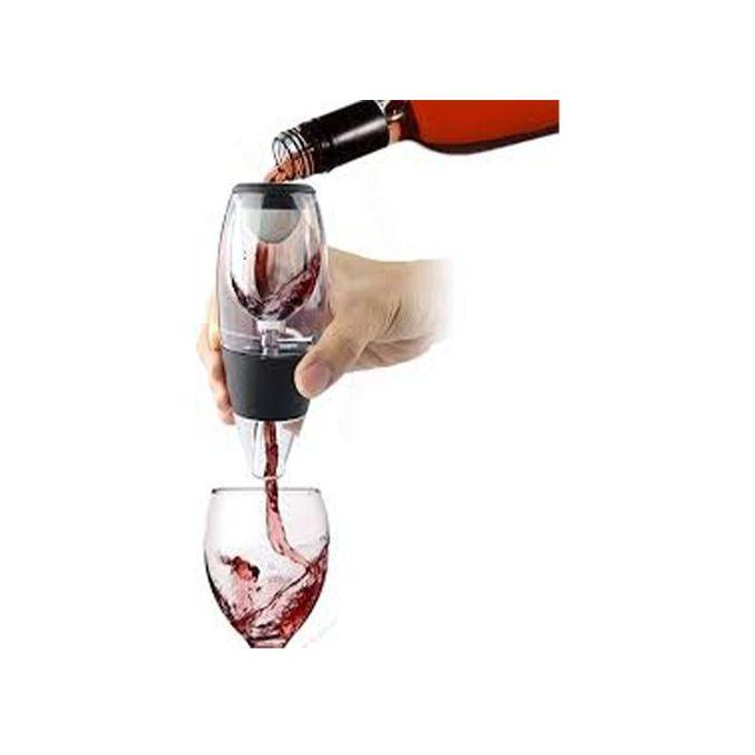 aerateur de vin avec support anti goutte vinocare sublimez vos vin prefere instantanement