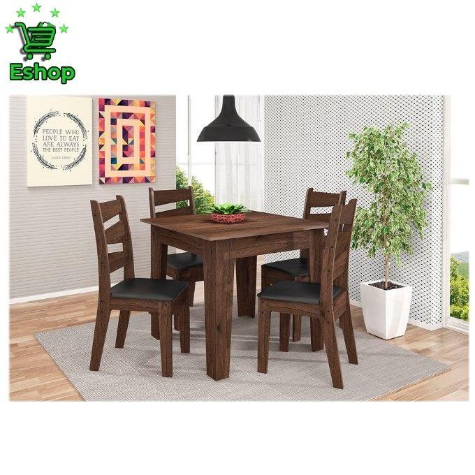 table a manger 4 chaises en bois