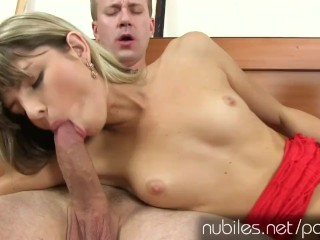 Gina Gersons tiny pussy stretched by big cock