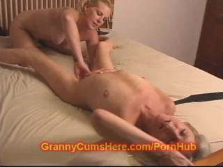 Fiery Granny acquires a Bitch whore for BIRTHDAY