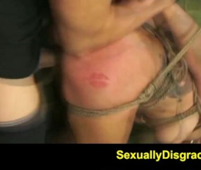 Fetishnetwork Isa Mendez Bdsm Slave Girl Tied Hard