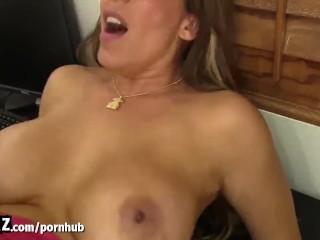 WANKZ – Busty MILF Slut Gets Fucked In Her Office!