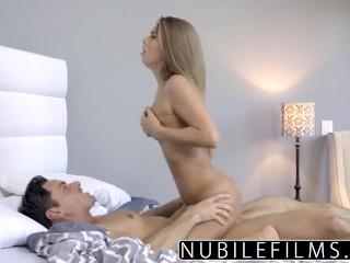 NubileFilms – Tight Coed Fucks And Swallows