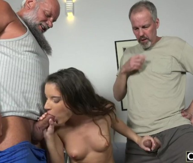 Old Young Porn Group Fucked Teen Takes  Grandpa Cocks And Cums