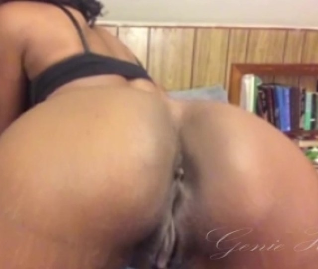 Naked Ebony With Dripping Wet Pussy