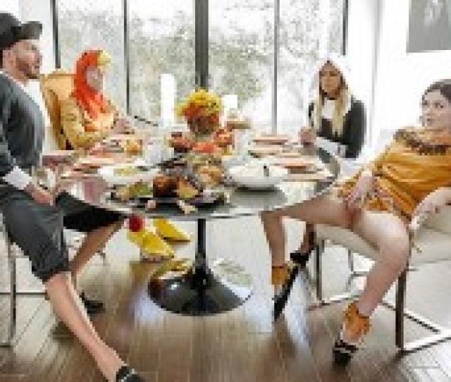 Familystrokes Horny Step Family Fucks Each Other For Thanksgiving