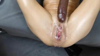 i was so hot self fisting bbc multi squirt orgasm