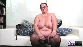 BTS interview with sexy BBW MILF Jessica Lust