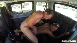 VIPSEXVAULT - Kinky Czech Teen Seduced and Fucked By Uber Driver