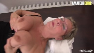 AmateurEuro - German Slutty GILF Fucked Hard By Her Nephew