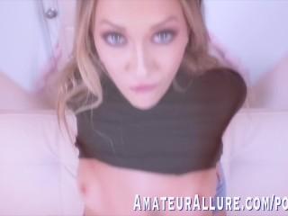 ADIRA ALLURE LOVES SUCKING DICK & GETTING FUCKED