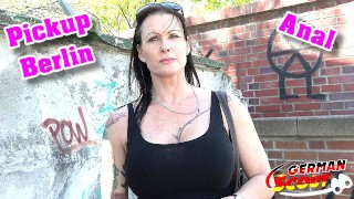 GERMAN SCOUT - DEEP ANAL FOR BIG TITS MILF JULIA AT PUBLIC STREET CASTING