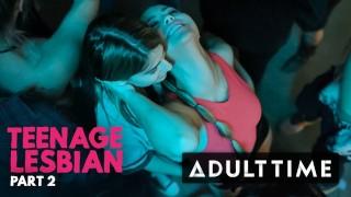 ADULT TIME Teenage Lesbian: Kristen Scott Learns from Kenna James