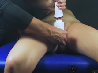 Multi orgasms clit massage-Put up orgasm abuse