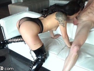 THROATED Gina Wants To Gag On Your Dick