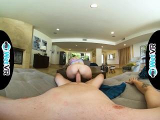 WetVR Kenzie Reeves Fucks Big Dick In Full VR Scene