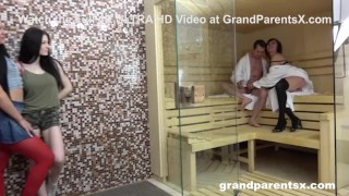 Two Teens Learn How to Fuck at the Spa