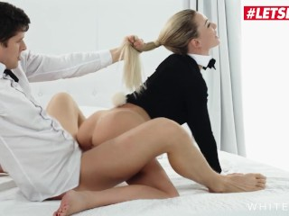 White Boxxx – Easter Bunny Girl Isabelle Deltore Tricked By Step Brother
