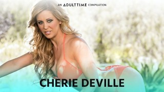 ADULT TIME Cherie Deville Sucking & Fucking Compilation